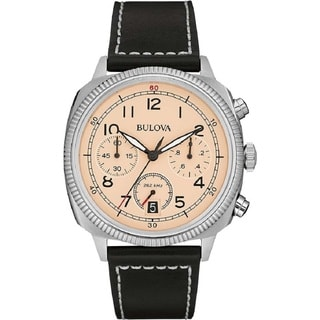 Bulova Men's 98B231 Stainless Steel Chronograph UHF Watch