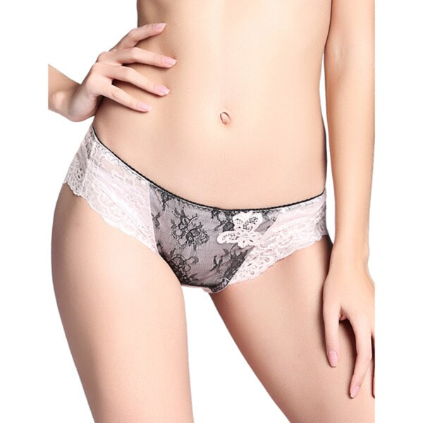 Rose Lady Lace Hipster Low-Rise Panty