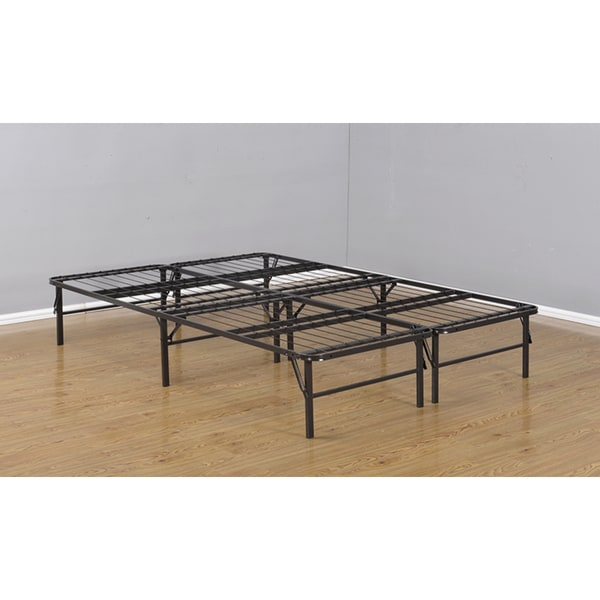 K & B B6054 4/6 Bi-Fold Metal Bed Base