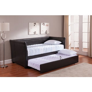 K & B DB07-BR Upholstered Day Bed