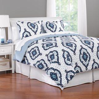 Lucca Ikat 3-piece Comforter Set