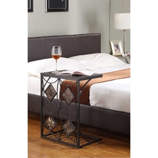K & B T06 Sofa Table Black Finish