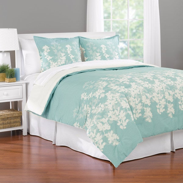 Shadow Leaf 3-piece Comforter Set (As Is Item)