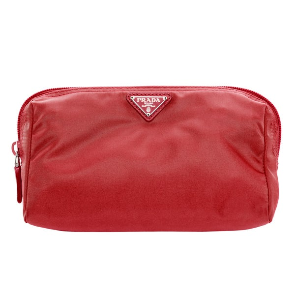 Prada Medium Triangle Cosmetic Case