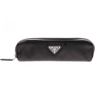 Prada Tessuto and Saffiano Leather Cosmetic Case