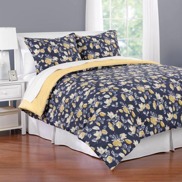 Gemma Floral 3-piece Comforter Set