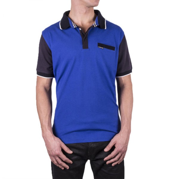 Members Only Men's Colorblock Polo Shirt