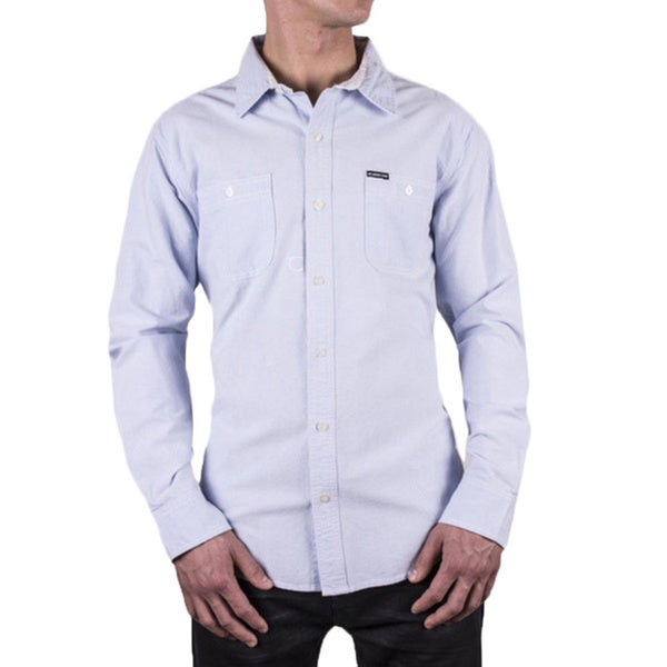 Members Only Men's Oxford Button-up Dress Shirt