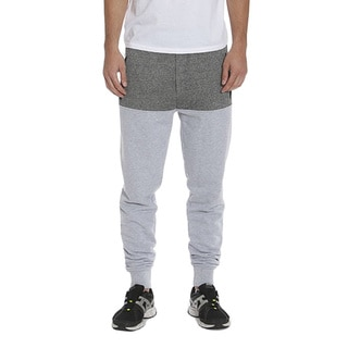 Members Only Men's French Terry Colorblock Joggers