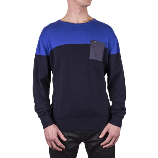 Members Only Men's Colorblock Pullover Sweater