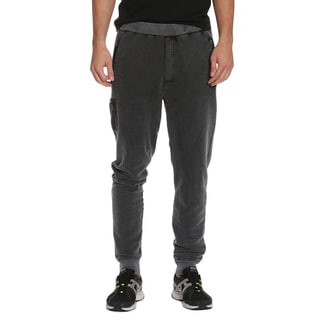 Members Only Men's French Terry Marbled Joggers