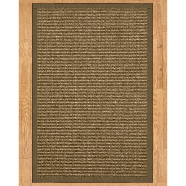 Handcrafted Sandstone Sisal 5' x 8' Rug - Fossil