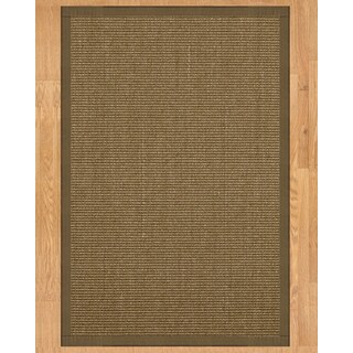 Handcrafted Sandstone Sisal 9' x 12' Rug - Fossil