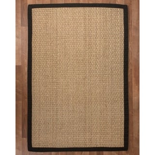 Lancaster Black Seagrass Rug (9' x 12')