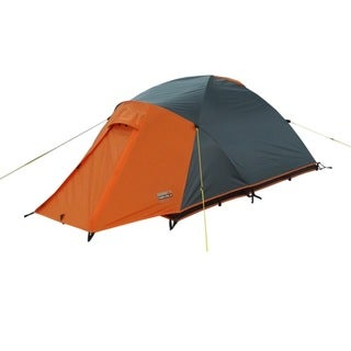 High Peak Outdoors 'Enduro' Grey/Orange All-Season 2-Person Backpacking Tent
