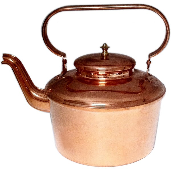 Copper Tea Kettle large