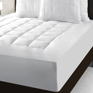 Maison Luxe Total Protection Waterproof PillowTop Mattress Pad