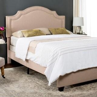 Safavieh Light Beige Theron Bed (Queen)