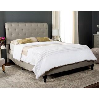 Safavieh Light Grey Hathaway Bed (Full)