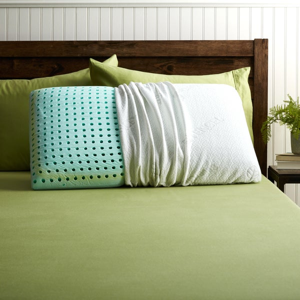 Blu Sleep Bio Aloe Memory Foam Pillow