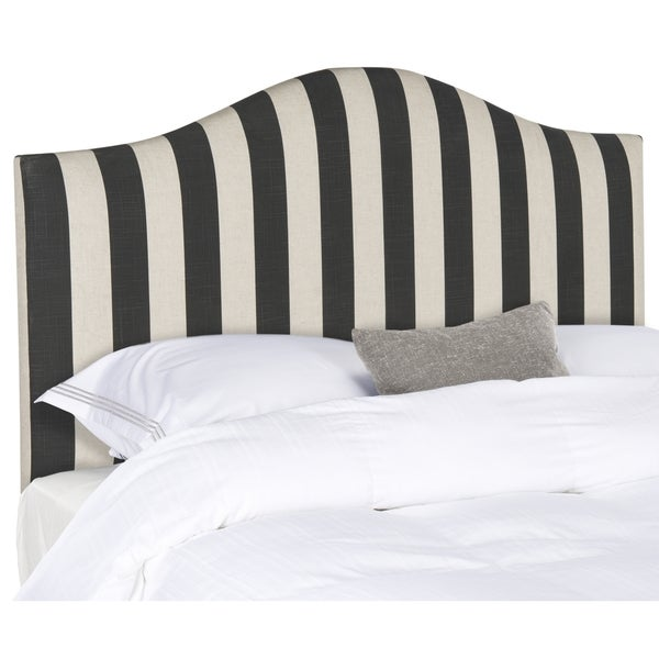 Safavieh Connie Black & White Stripe Headboard (Full)