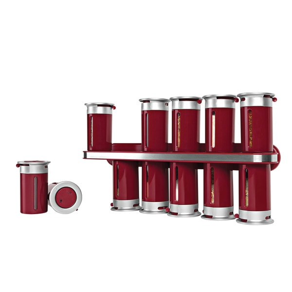 Zero Gravity Wall-Mount Magnetic Spice Rack
