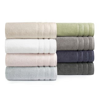 Vera Wang 3-piece Twill Stripe Towel Set