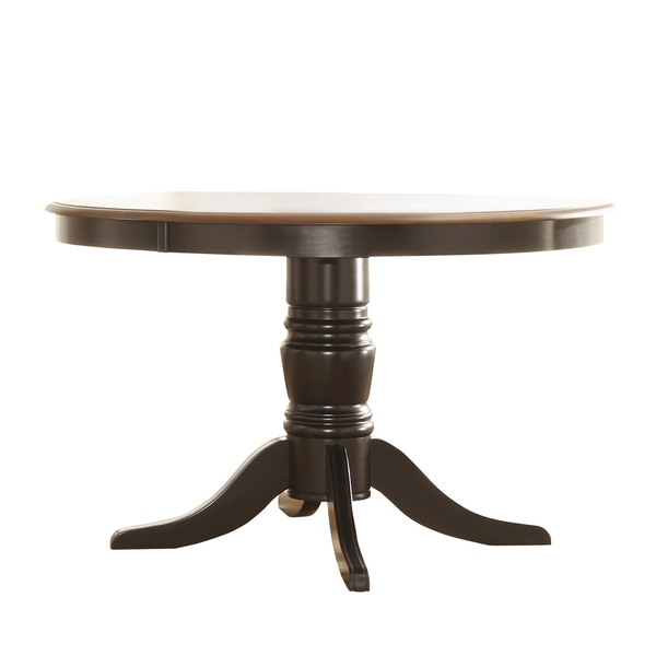 TRIBECCA HOME Mackenzie Country Black Dining Table