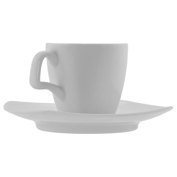 10 Strawberry Street Aurora Demitasse Cup and Saucer (Set of 6) 15769685