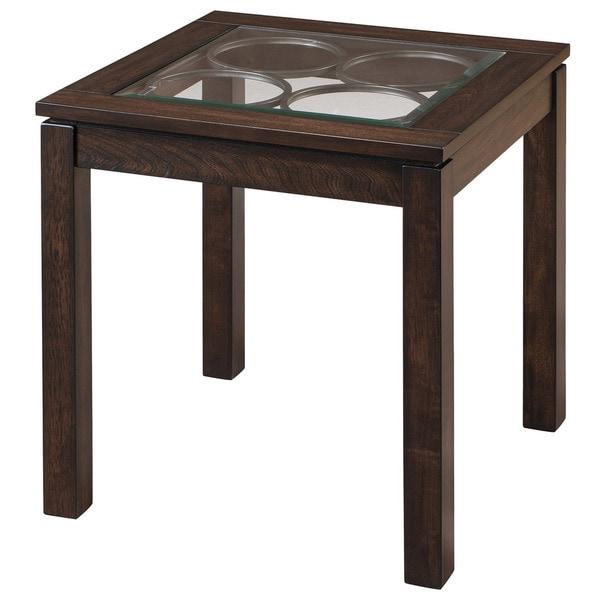 Circa Dark Oak Accent Table