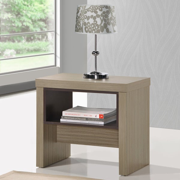 Polo Driftwood Accent Table