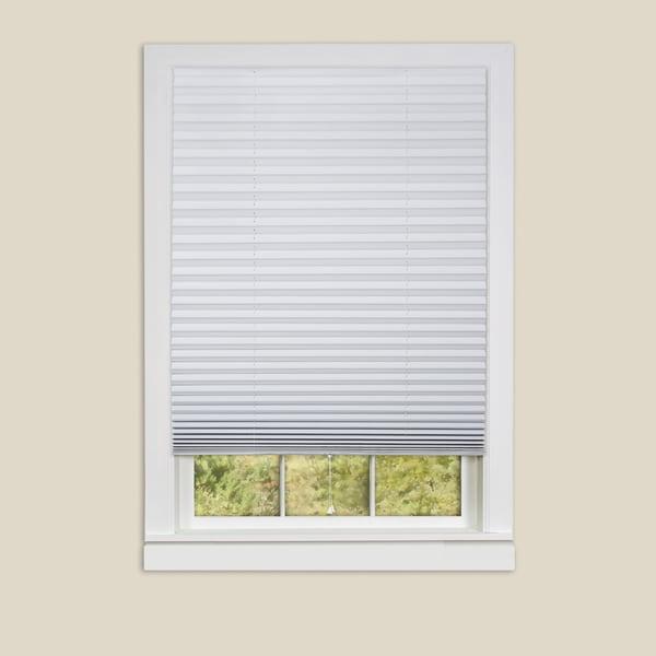 Easy adjustable peel and stick room darkening vinyl for 18 inch window blinds
