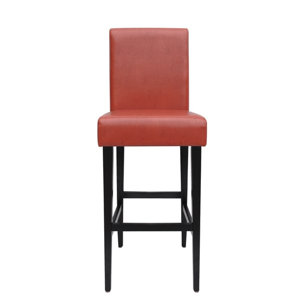 Somette Lorena Red 30-inch Barstool