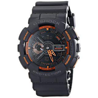 Casio Men's GA-110TS-1A4CR 'G-Shock' Black Resin Watch