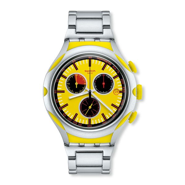 Swatch Men's YYS4002AG 'Irony' Chronograph Stainless Steel Watch