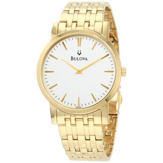Bulova Men's 97A102 Gold-Tone Stainless Steel Watch