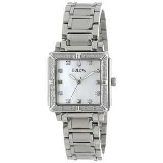 Bulova Women's 96R107 Diamond Stainless Steel Watch