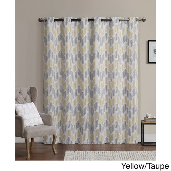 Vcny Marlie Printed 96 Inch Blackout Grommet Curtain Panel Pair 17439799
