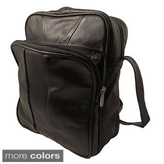 Continental Leather Across the Body Messenger Bag