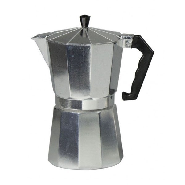 Home Bascis Aluminum Finish 12-cup Espresso Maker