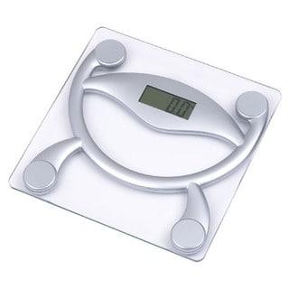 Home Basics Digital Glass Bathroom Scale