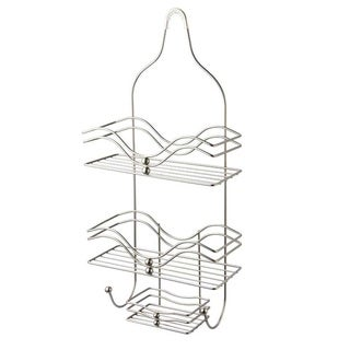 Home Basics Satin Nickel Shower Caddy