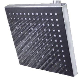 Sunbeam Jumbo Square Rainfall Shower Head