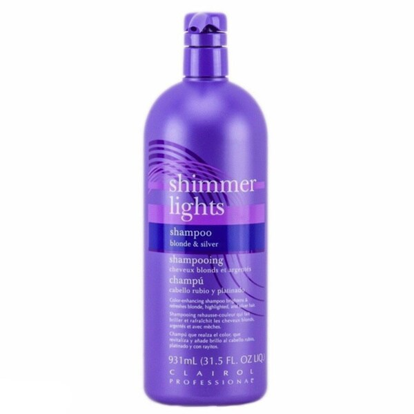 Clairol Shimmer Lights 31.5-ounce Blonde and Silver Shampoo