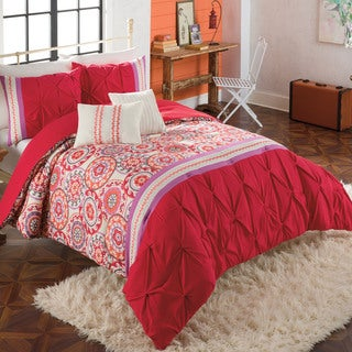 Morocco Bohemian Print 5-piece Comforter Set