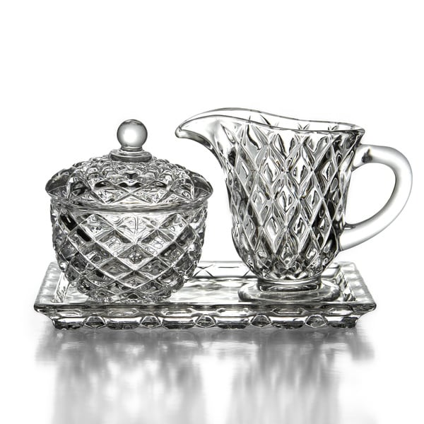 Fifth Avenue Muirfield Sugar and Creamer Set