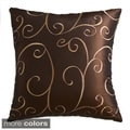 Villa Embroidered Feather Down Pillow (Pack of 2)