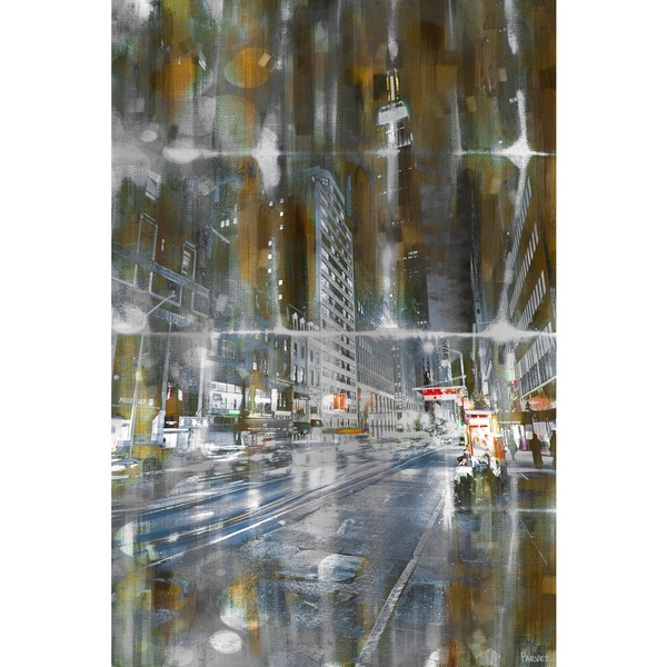 Parvez Taj 'End of the Street' Canvas Art