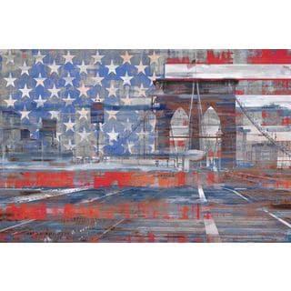 Parvez Taj 'Patriotism' Canvas Art
