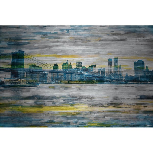 Parvez Taj 'Bridge Span' Canvas Print Art